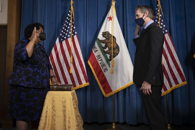 Dr. Shirley Weber Sworn in as California Secretary of State