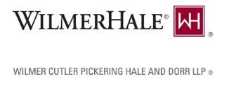 WilmerHale logo