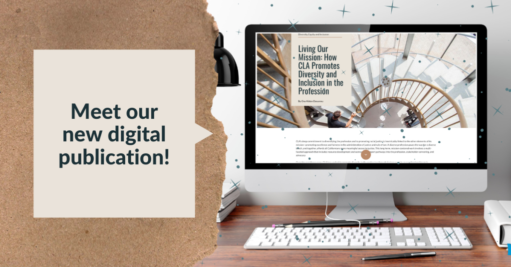 Image reads: Meet our new digital publication!