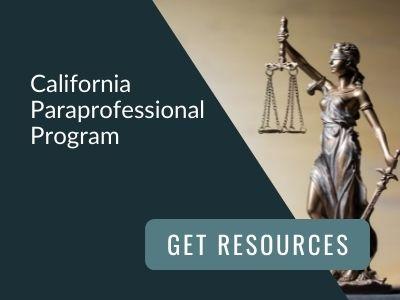 image reads: California Paraprofessional Program. Get resources