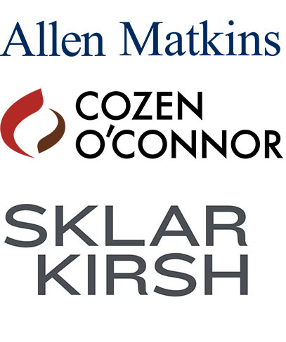 Allen Matkins; Cozen O'Connor; Sklar Kirsh