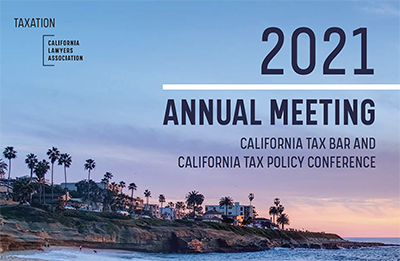Tax section annual meeting image