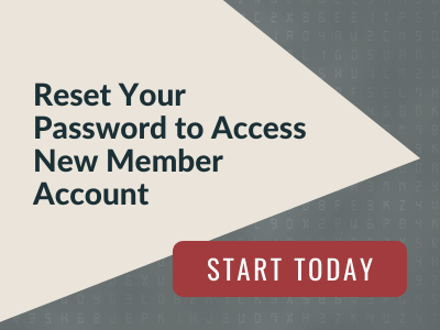 Reset your password to access new members account.  Start today!